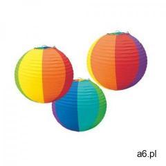 Lampiony kule kolorowe - 3 szt. marki Amscan - ogłoszenia A6.pl