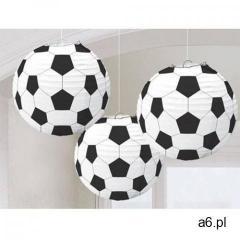 Amscan Lampiony piłka nożna - 3 szt. - ogłoszenia A6.pl