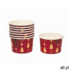 Neviti Pucharki kubeczki do lodów bożonarodzeniowe choinka - 8 szt. - ogłoszenia A6.pl