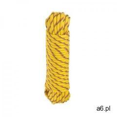 Lina polipropylenowa 100 kg 6 mm x 15 m pleciona żółta marki Standers - ogłoszenia A6.pl