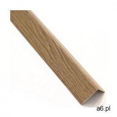 Kątownik pvc 2.6 m x 19.5 x 19.5 mm matowy dąb salinas marki Standers - ogłoszenia A6.pl
