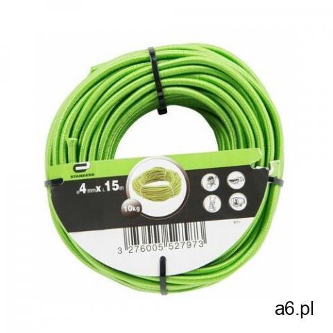 Lina elastyczna 9 kg 4 mm x 15 m zielona marki Standers - 1
