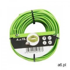 Lina elastyczna 9 kg 4 mm x 15 m zielona marki Standers - ogłoszenia A6.pl