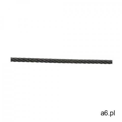 Linka stalowa czarna 42 kg 2 mm x 40 m STANDERS (3276009975022) - 1