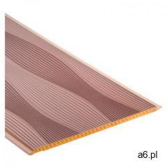 Panel ścienny pcv 25 cm fale sahara 2,7 m2 marki Cezar - ogłoszenia A6.pl
