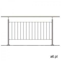 Balustrada nierdzewna pionowa VR AISI304, D42,4/d1 - ogłoszenia A6.pl