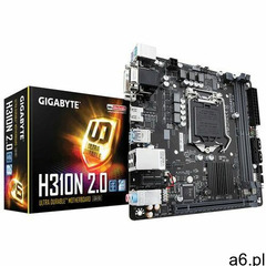 Płyta główna Gigabyte H310N 2.0 - GA-H310N 2.0- Zamów do 16:00, wysyłka kurierem tego samego dnia!