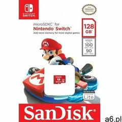 Karta pamięci microsdxc nintendo switch microsdxc 128gb 100/90 mb/s a1 c10 v30 uhs-i u3 marki Sandis