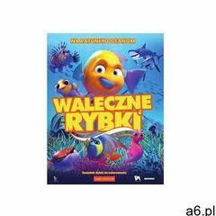 Praca zbiorowa Waleczne rybki (książeczka + dvd) - ogłoszenia A6.pl