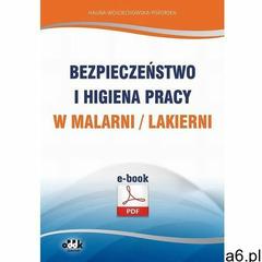 Bezpieczeństwo i higiena pracy w malarni/lakierni - Halina Wojciechowska-Piskorska (161 str.) - ogłoszenia A6.pl
