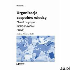 Organizacja zespołów wiedzy. Darmowy odbiór w niemal 100 księgarniach! (2019) - ogłoszenia A6.pl