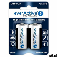 2 x baterie alkaliczne everActive Pro LR14 / C (blister) (5903205770295) - ogłoszenia A6.pl