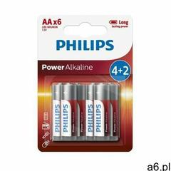 Baterie AA LR6 PHILIPS Power Alkaline (6 szt.) - ogłoszenia A6.pl