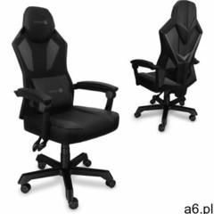 Connect IT fotel gamingowy Monte Carlo, czarny (CGC-2100-BK) (8595610628284) - ogłoszenia A6.pl