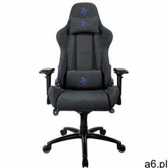 fotel gamingowy na kółkach verona signature soft fabric, czarny/niebieski (verona-sig-sfb-bl) marki  - ogłoszenia A6.pl