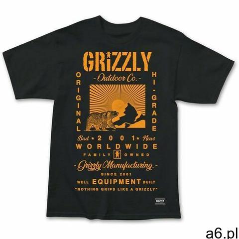 koszulka GRIZZLY - Tagline Ss Tee Blk (BLK) rozmiar: L, 1 rozmiar - 1