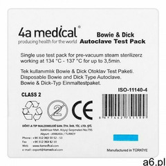 Testy kontroli sterylizacji Bowie & Dick 200 warstw - ogłoszenia A6.pl