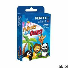 Plaster z opatrunkiem zestaw dziecięcy zoo 20 szt - perfect plast marki Perfect plast (plastry) - ogłoszenia A6.pl