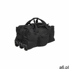 Torba taktyczna MiL-Tec, Torba z szelkami na kółkach, plecak z kółkami, 110L, czarna - ogłoszenia A6.pl