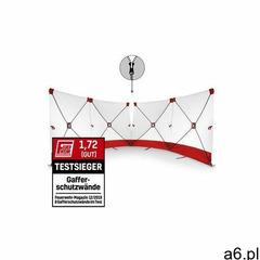 Trotec Parawan zasłaniający varioscreen 4*180*180 dzielony pośrodku czerwony (4052138052037) - ogłoszenia A6.pl