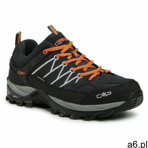 Trekkingi CMP - Rigel Low Trekking Shoes Wp 3Q13247 Antracite/Flash Orange 56UE - 1
