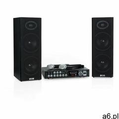 Auna Karaoke Star 4 zestaw do karaoke 2 x 80W BT port USB 2 x mikrofon bezprzewodowy - ogłoszenia A6.pl