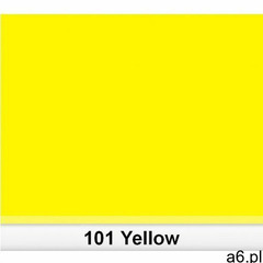 Lee 101 yellow filtr barwny folia - arkusz 50 x 60 cm - ogłoszenia A6.pl