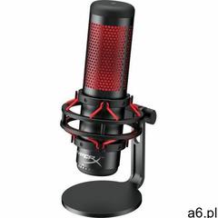 Kingston mikrofon gamingowy hyperx quadcast, czarny/czerwony (hx-micqc-bk) - ogłoszenia A6.pl
