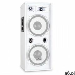Kolumna PA Malone™ PW 2222 biały 2x30cm głośnik 1000W (4260195334977) - ogłoszenia A6.pl