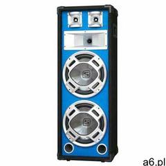 Skytec PA kolumna estradowa głośnik niebieski efekt świetlny 20 cm (8715693160970) - ogłoszenia A6.pl