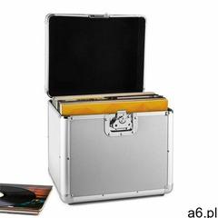 zeitkapsel aluminiowy kufer na 70 lp srebrny marki Resident dj - ogłoszenia A6.pl