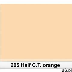 Lee 205 half c.t.orange filtr barwny folia - arkusz 50 x 60 cm - ogłoszenia A6.pl
