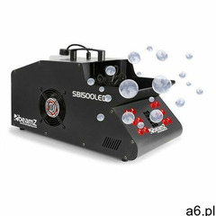 beamZ SB1500LED Wytwornica mgły/baniek mydlanych 1500 W zbiornik 1,35 l diody LED RGB DMX (871569328 - ogłoszenia A6.pl