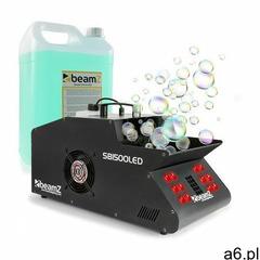 Beamz sb1500led, wytwornica mgły lodowej/baniek mydlanych, z fluidem do wytwarzania mgły, 1500 w, 1, - ogłoszenia A6.pl