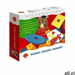 ALEXANDER Gra Memory Wzory, Kolory (0457) (5906018004571) - ogłoszenia A6.pl