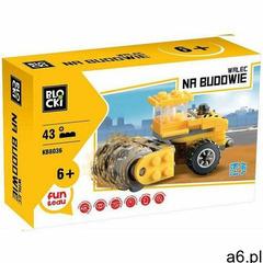 Klocki Blocki Na budowie walec 43 elementy - ogłoszenia A6.pl