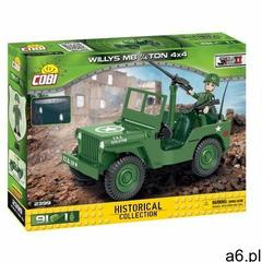 Klocki COBI Historical Collection: World War II - WWII Jeep Willys MB 1/4 Ton 4x4 2399 - ogłoszenia A6.pl