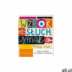 """""""wzrok, słuch,smak dają znak 1y39cp marki Nasza księgarnia - ogłoszenia A6.pl"""