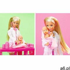Lalka steffi pediatra z dwoma niemowlakami marki Simba - ogłoszenia A6.pl