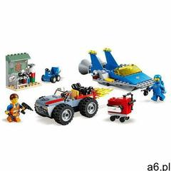 zestaw klocków movie 70821 warsztat emmeta i benka marki Lego - ogłoszenia A6.pl