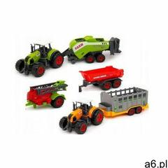 Zestaw farma: 2 traktory / ciągniki + 4 maszyny rolnicze. marki Sunq toys - ogłoszenia A6.pl