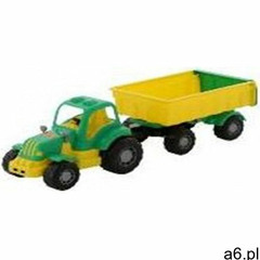Pojazd Osilek Traktor z przyczepą siatka (4810344044792) - ogłoszenia A6.pl