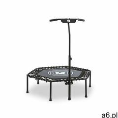 """Klarfit jumpanatic trampolina fitness 44"""" / 112 cm Ø drążek z uchwytem składana czarna - ogłoszenia A6.pl"""