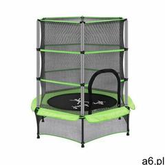 trampolina dla dzieci - zielona - do 50 kg - Ø140 cm uni_trampoline_01 - 3 lata gwarancji marki Unip - ogłoszenia A6.pl