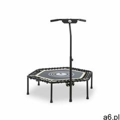 """jumpanatic trampolina fitness 44"""" / 112 cm Ø drążek z uchwytem składana biała marki Klarfit - ogłoszenia A6.pl"""