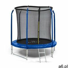 KLARFIT Jumpstarter, trampolina, średnica siatki 2,5 m, nośność 120 kg max., ciemnoniebieska (406065 - ogłoszenia A6.pl