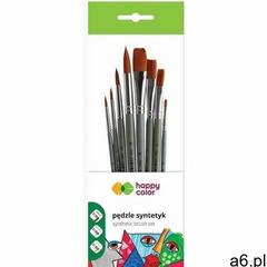Pędzle artystyczne mieszane 8szt happy color (5905130036651) - ogłoszenia A6.pl
