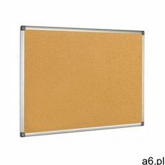 Tablica korkowa rama aluminiowa 90x120 BI-OFFICE, DN592 - ogłoszenia A6.pl