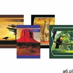 Zeszyt kartka A4 96 kartek, losowy wzór okładki - X06059 - ogłoszenia A6.pl