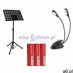 Pulpit do nut statyw stojak na nuty+ lampka gratis marki 6strun.pl - ogłoszenia A6.pl